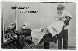 """Dentist - """"Any Hair On Your Teeth?"""" - Comics"""