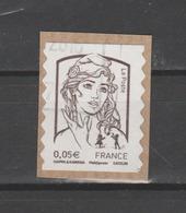 FRANCE / 2013 / Y&T N° AA 848 : Ciappa Adhésif 0,05 € - Choisi - Annulé Par Dateur Manuel - France