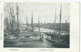 Oostende - Ostende - Les Barques De Pêche - Editeur V.G. - Oostende