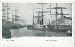 Oostende - Ostende - Une Vue Des Quais - Editeur V.G. - Oostende