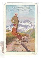 CALENDARIETTO BERTELLI  ALMANACCO 1922 - Calendari