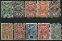 1919 Compagnia Del Mozambico, Segnatasse, Serie Nuova (*) - Mozambico