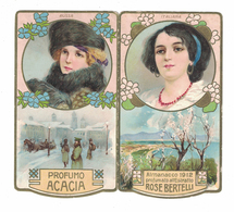 CALENDARIETTO BERTELLI  ALMANACCO 1912 SEMESTRINO - Calendari