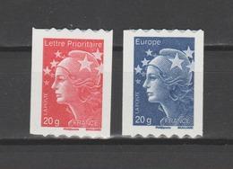 FRANCE / 2011 / Y&T N° AA 599/600 ** : Beaujard TVP LP France & Europe 20g (roulettes Adhésives) - Etat D'origine - France