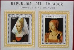 Ecuador 1967 Pinturas - Van Der Weyden, Dürer  ** MNH - Equateur