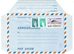 France, Aérogramme 1977, Avion Concorde, Yv. 1007 - AER NEUF - - Avions