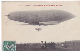 "Cpa-aviation- Dirigeable Militaire ""republique""-edi S.R.A. N°1020 - Dirigeables"