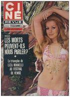 Ciné Revue Télé Programmes N°35 Liza Minnelli Et Gina Lollobrigida - Romy Schneider César Et Rosalie De 1972 - Télévision