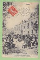 La Commune, SEMAINE SANGLANTE : Rue Haxo, Paris, 26 Mai 1871, Otages Conduits Au Mur Pour Y être Fusillés. 2 Scans. - Histoire