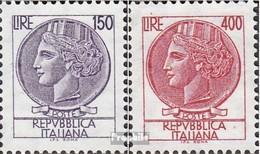 Italie 1522-1523 (complète.Edition.) Neuf Avec Gomme Originale 1976 Italia Turrita - 1946-.. Republiek
