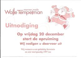 Zutphen.Walle Tempelman 1996. Kerstman-Santa Claus-Weihnachtsmann-Père Noël - Kerstman