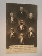 Politique, Les Présidents De La République - Thiers, Mac Mahon, Grévy, Carnot, Casimir Périer, Félix Faure, Loubet - Personnages