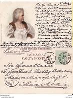 Rumanien,Roumanie   -Salutari Din Romania -litografie-Royalty, Carmen Sylva-litho 1899 - Romania