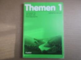 Themen 1  Lehrerhandbuch / Lehrwerk Für Deutsch Als Fremdsprache - Livres, BD, Revues