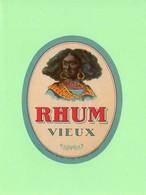 Etiquette Rhum, Rhum Vieux, Wetterwald, Bordeaux - Rhum