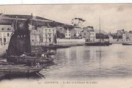 Finistère - Audierne - Le Roz Et Le Chemin De La Gare - Audierne