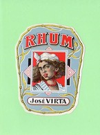 Etiquette Rhum, Rhum José Virta - Rhum