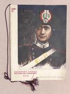 Collezionismo Calendari - Calendario Storico Dell'Arma Dei Carabinieri 1951 RARO - Calendari