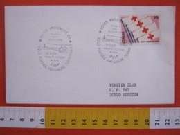 A.05 ITALIA ANNULLO - 1980 FROSINONE SCUOLA VOLO ELICOTTERO VOLO POSTALE TERMINILLO AEREA AIR POST - Elicotteri