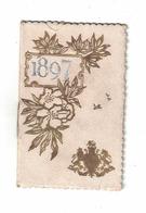 CALENDARIETTO  ALMANACH  RIMMEL  1897 - Calendari