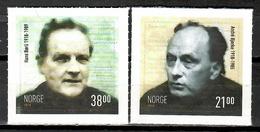 Norway 2018 Noruega / Writers Authors MNH Escritores Schriftsteller / Cu10313  32 - Ongebruikt