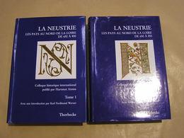 LA NEUSTRIE Les Pays Au Nord De La Loire De 650 à 850 2 Tomes Archéologie Histoire Normandie Caën Trainecourt Bretagne - Normandië