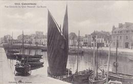 Finistère - Concarneau - Vue Générale Du Quai Peneroff - Le Bassin - Concarneau