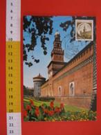 A.05 ITALIA ANNULLO - 1980 MILANO FDC MAXIMUM CASTELLO SFORZESCO SFORZA LODOVICO IL MORO - Castles