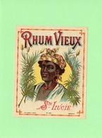 Rare, Etiquette Rhum, Rhum Vieux, Ste Lucie - Rhum