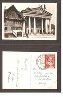 Autriche Austria Österreich 1951: Mi 965 Mit O TEXTILFACHMESSE 29.VII.51 DORNBIRN Auf AK Rotes Haus M. Kirche Dornbirn - Textil