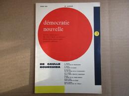 Démocratie Nouvelle / Mars 1961 - Politique