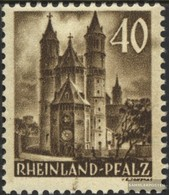 Franz. Zone-Rheinland Palatine 39 With Hinge 1948 Postage Stamp - Zone Française
