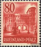 Franz. Zone-Rheinland Palatine 40 With Hinge 1948 Views - Zone Française