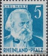 Franz. Zone-Rheinland Palatine 34I Type I, K Of Karl With Tick Unmounted Mint / Never Hinged 1948 Views - Zone Française