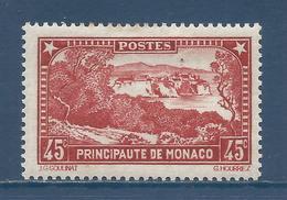 Monaco - YT N° 123 - Neuf Avec Charnière - 1933 à 1937 - Neufs