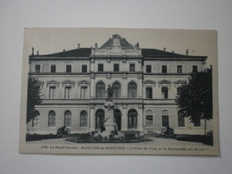 74 Saint Julien En Genevois, Hotel De Ville Et Monument Aux Morts (A2p71) - Saint-Julien-en-Genevois