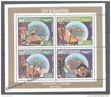 Mauritanie - Mauritania 1986 Yvert 587-89 & A245, 500th Anniv. Of America Discovery By C. Columbus - Sheetlet - MNH - Mauritania (1960-...)
