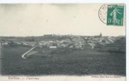 Corbion - Panorama - Editeur Hôtel Mercier-Pierret - 1908 - Bouillon