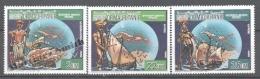 Mauritanie - Mauritania 1986 Yvert 587-89, 500th Anniv. Of America Discovery By Christopher Columbus - MNH - Mauritania (1960-...)