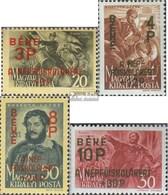 Hongrie 774-777 (complète.Edition.) Avec Charnière 1945 Gedenkmarken - Hungary