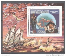 Mauritanie - Mauritania 1986 Yvert A245, 500th Anniv. Of America Discovery By Columbus - Individual Airmail Sheet - MNH - Mauritania (1960-...)