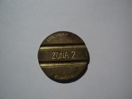 PARAGUAY. JETON DE STATIONNEMENT D ASUNCION ZONE 2 - Autres