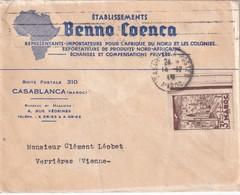 MAROC   PLI AERIEN DE CASABLANCA - Marokko (1891-1956)