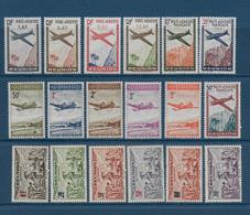 REUNION - POSTE AERIENNE + TAXE - PETIT LOT De SERIES COMPLETES UNIQUEMENT * / MLH - COTE YVERT = 16.5 EUR. - Reunion Island (1852-1975)