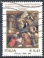 Italia, 2003 Natale, €.0,62 # Sassone 2717 - Michel 2937 - Scott 2577  USATO - 6. 1946-.. Republic