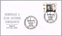Homenaje A JUAN ANTONIO SAMARANCH. Madrid 2001 - Juegos Olímpicos
