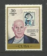 CUBA 1981 - Picasso
