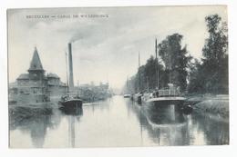 Vilvoorde Canal De Willebroeck CPA Oude Postkaart Willebroek Kanaal - Maritime
