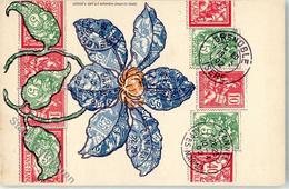 51892682 - Frankreich Blumen - Postzegels
