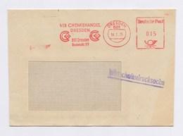 DDR Cover AFS - DRESDEN, VEB Chemiehandel Dresden 14.2.75 - [6] Repubblica Democratica
